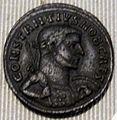 Impero, costanzo, nummo in biglione (lione), 300-302.JPG
