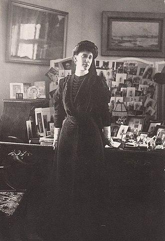 Princess Ingeborg of Denmark - Ingeborg, Duchess of Västergötland in mourning, 1900s