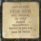 Ingelheim Rieke Kahn geb. Fränkel.png