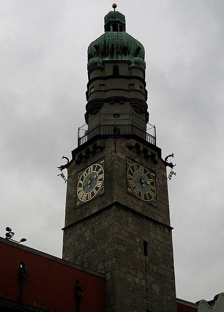 برج المدينة في البلدة القديمة.