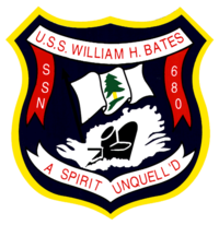 Insignia of SSN-680 William H Bates.PNG