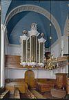 interieur en orgel van de hervormde kerk te
