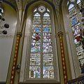 Interieur koor, noordzijde, glas in loodraam - Vierakker - 20346249 - RCE.jpg