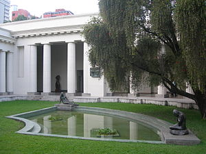 National Art Gallery (Caracas) - The former home of the National Art Gallery, now the Fine Art Museum