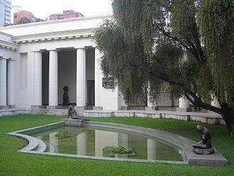 National Art Gallery (Caracas) - The former home of the National Art Gallery, now the Fine Art Museum