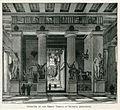 Interior of the Great Temple at Olympia (restored) - Mahaffy John Pentland - 1890.jpg