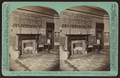 Interior of the McGraw-Fiske Mansion, Ithaca, N.Y. Carved mantlepiece and tapestries in guest chamber. (W. H. Miller, architect), by Eagles, J. D., 1837-1907.png