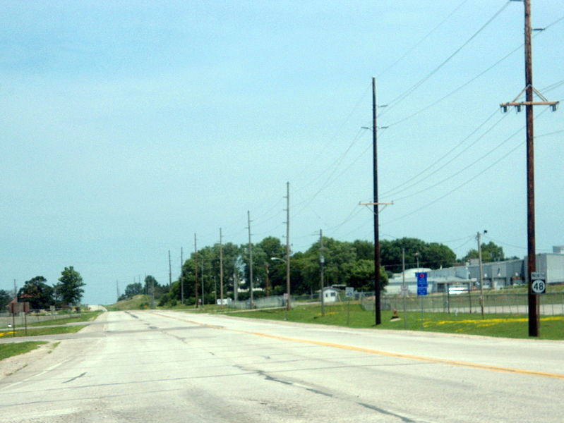 File:Iowa Highway 48, Red Oak, IA.jpg