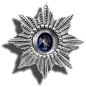 Kate B. Carter - A commander's star, Order of the Falcon, Iceland