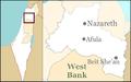 Israel outline northern Jezreel.png