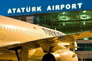 Atatürk's cult of personality - Istanbul Atatürk Airport