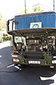 Iveco military truck of the Bundeswehr - engine.jpg