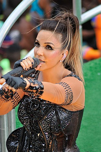 Ivete Sangalo - Ivete Sangalo in 2010.
