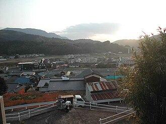 Masanobu Fukuoka - View from Fukuoka's family home in Iyo, Ehime