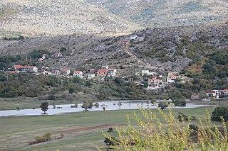 Mirlović Polje Village in Šibenik-Knin County, Croatia