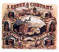 J. Estey & Co. advertisement - Boudoir Organs, Harmonic Organs, Cottage Organs. Brattleboro, VT. (c.1866-c.1872) edit1.jpg