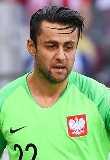 Łukasz Fabiański Polish association football player