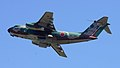 JASDF C-1(68-1020) fly over at Iruma Air Base November 3, 2014.jpg
