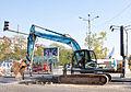 JCB JS220 Excavator in Sofia 2012 PD 2.jpg