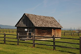 National Register of Historic Places listings in Valley County, Idaho - Image: JOHN KORVOLA HOMESTEAD, VALLEY COUNTY, IDAHO