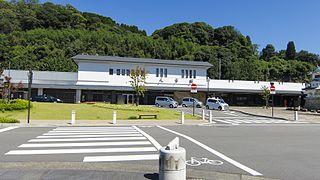 Hitoyoshi Station Railway station in Hitoyoshi, Kumamoto Prefecture, Japan