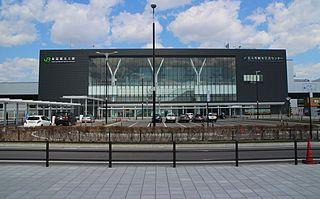 Shin-Hakodate-Hokuto Station Railway station in Hokuto, Hokkaido, Japan