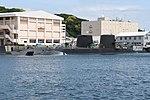 JS Seiryū(SS-509) & Oyashio class submarine right rear view at U.S. Fleet Activities Yokosuka April 30, 2018.jpg