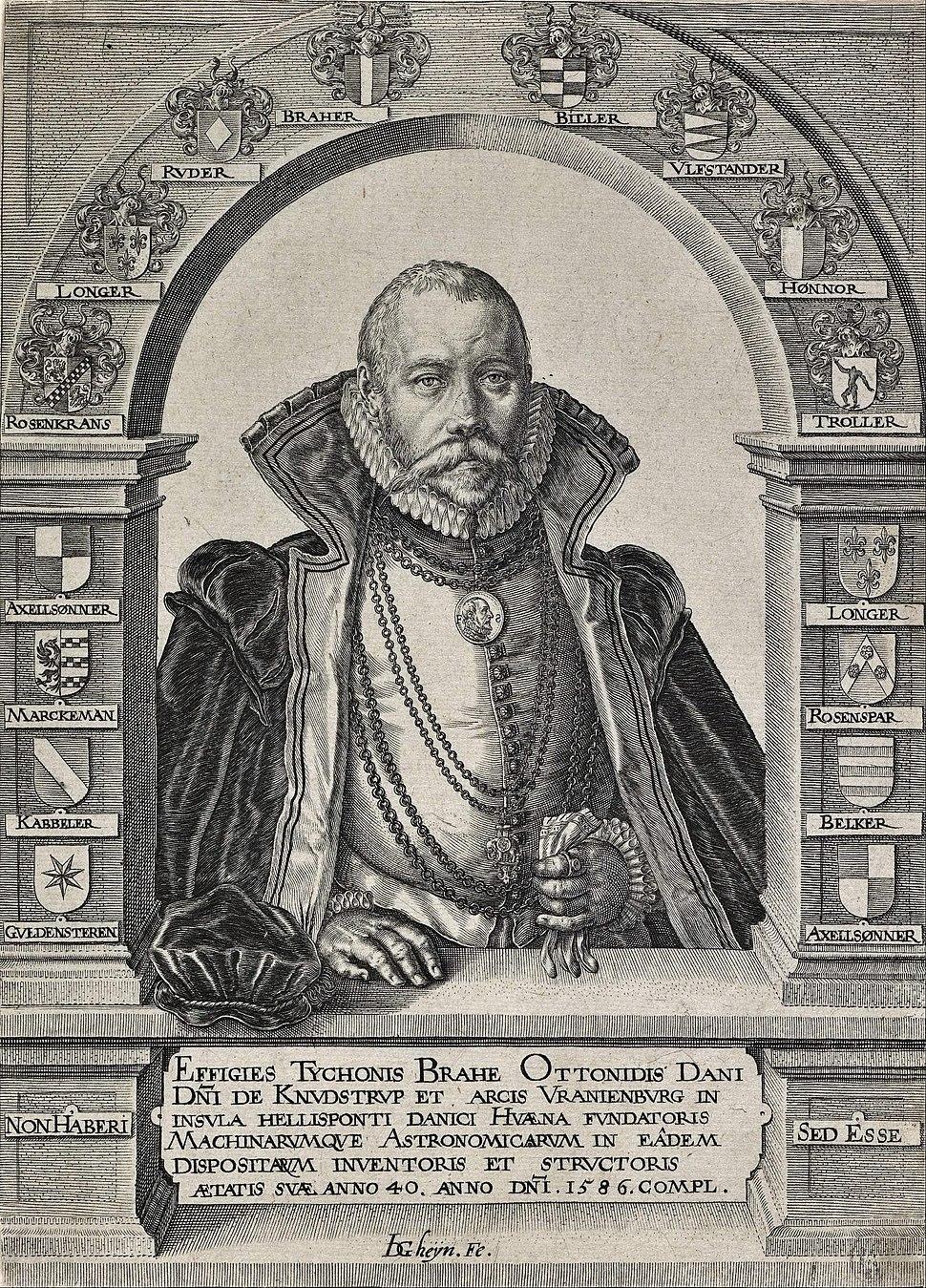 Jacques de Gheyn Ii - Portrait of Tycho Brahe, astronomer (without a hat) - Google Art Project