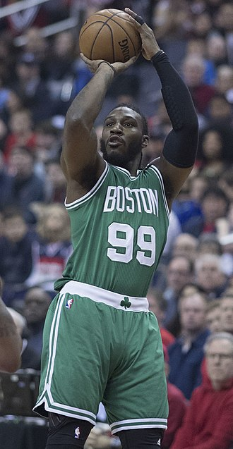 Jae Crowder - Crowder with the Celtics in May 2017
