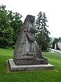 Jakob Probst (1880–1966), Hodler-Krieger oder Marignano-Krieger, 1944-45, Soldatendenkmal. 1955 eingeweiht durch General Guisan, Stadtpark Olten (2).jpg