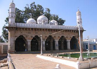 Sira Subah - The Mughal-era Juma Masjid in Sira Town, as seen in 2007