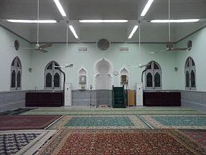 Jamia Mosque (Hong Kong) - Jamia Mosque prayer hall