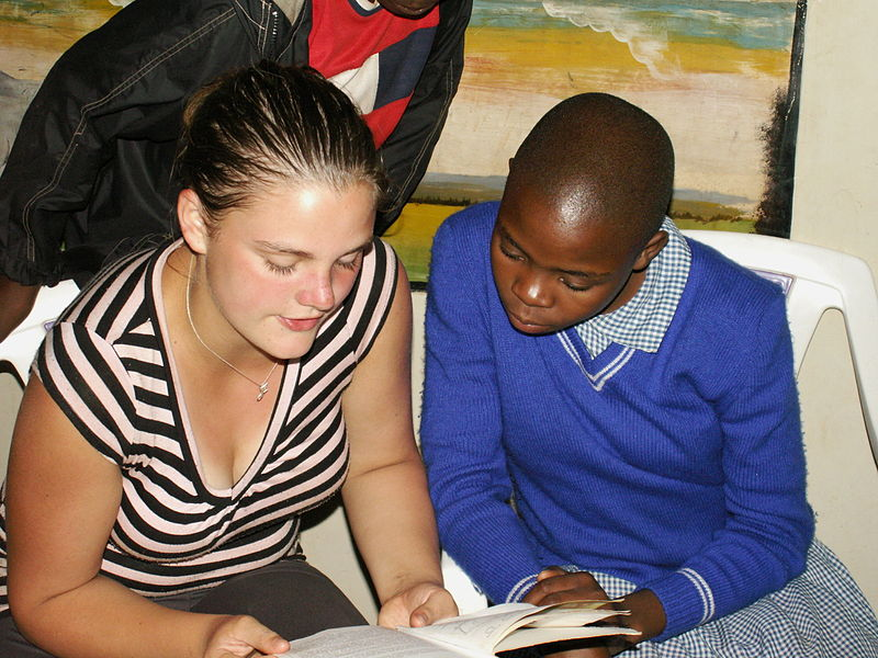 File:Jamie Tutoring in Africa.jpg