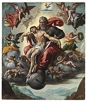 Jan Cornelisz. Vermeyen - The Holy Trinity