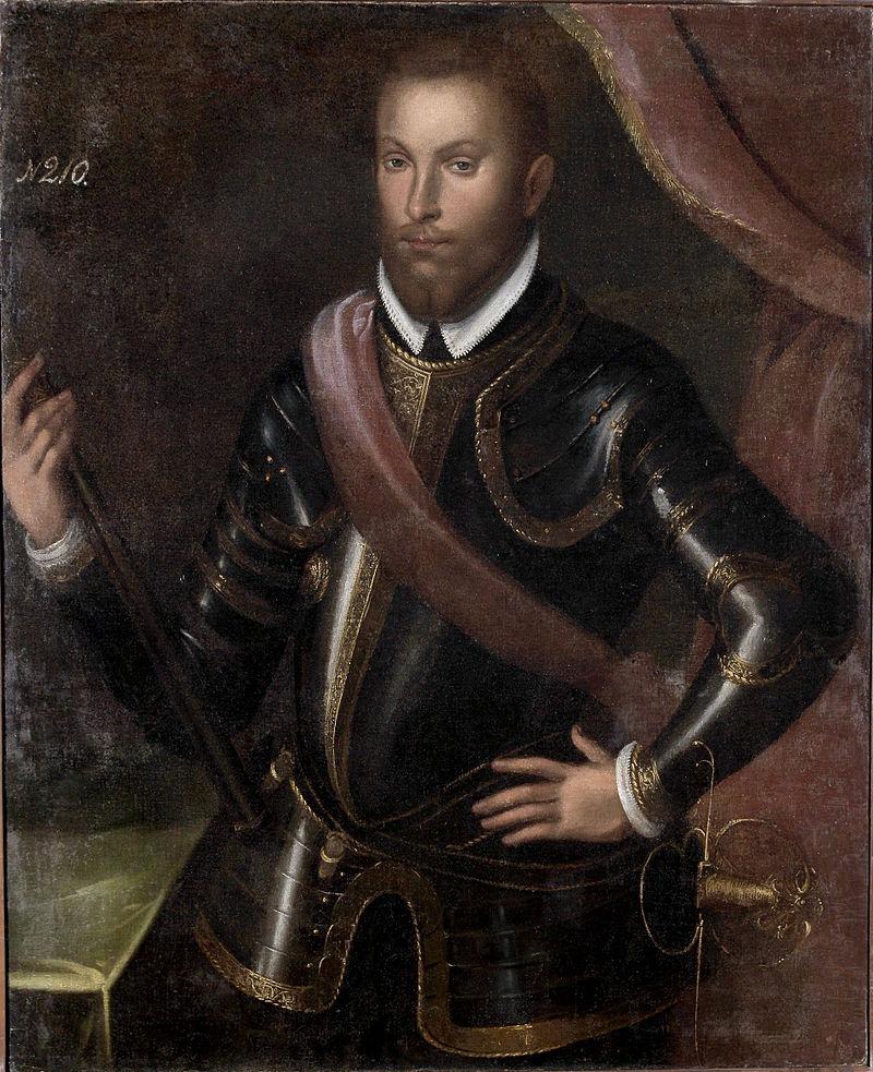 Портрет неизвестного автора, XVII век