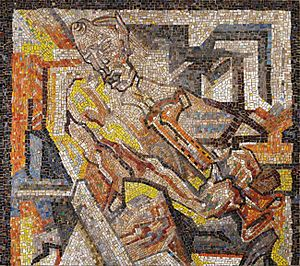 Johan Thorn Prikker - Image: Jan Thorn Prikker Mosaikbild 1925