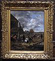 Jan steen, paesaggio con taverna e giocatori di birilli, 1656-60 ca..JPG