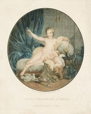 Mikkel Museum - Image: Janinet Veenus ja Amor