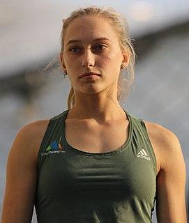 Janja Garnbret Slovene sport climber