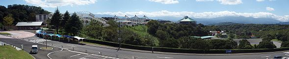 Japan cycle sports center, Panorama, 20110919.jpg