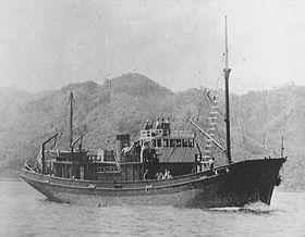 1948年、改造完成した漁船松丸(元第八十五号哨... 第八十五号哨戒特務艇 1948年、改造完