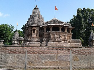 Jayasimha Siddharaja - Image: Jasmalnathji Shiva Temple, Asoda, Gujarat