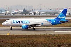 Airbus A320-200 der Jazeera Airways