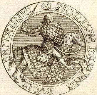 John II, Duke of Brittany - Image: Jean II de Bretagne (détail)