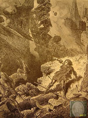 Siege of Paris (1429) - Joan of Arc at siege of Paris