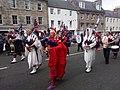 Jedburgh pipe band fancy dress for charity.jpg