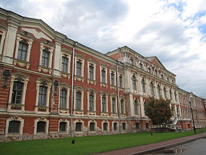 Jelgava - The Rastrelli Palace at the heart of Jelgava.