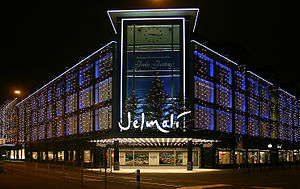 Jelmoli - Jelmoli with Christmas lights (2006)