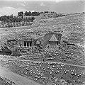 Jeruzalem. Gezicht vanaf de Tempelberg in oostelijke richting in het Kedrondal m, Bestanddeelnr 255-1648.jpg
