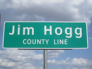 Jim Hogg County, TX, sign IMG 3362.JPG